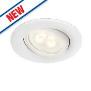 Philips Fresco Recessed Ceiling Spotlight White 2.5W