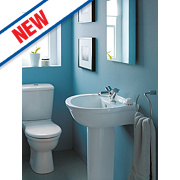 Ideal Standard Alto Full Pedestal Basin 1 Tap Hole 550mm