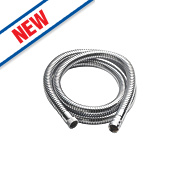 Aqualisa Shower Hose Chrome-Plated 11mm x 1.75m