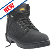 Site Marble Safety Boots Black Size 9