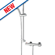 Bristan Zing CoolTouch Exposed Thermostatic Mixer Shower Chrome