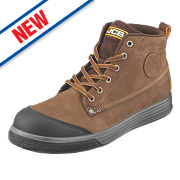 JCB 4CX Safety Trainer Boots Brown Size 12