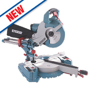 Erbauer ERB239MSW 254mm Double Bevel Sliding Mitre Saw 230V