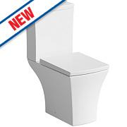 Munich Square Close Coupled Toilet Dual Flush 4/6Ltr