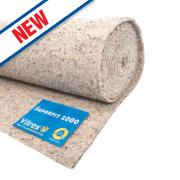 Vitrex Superfit 1000 Medium Carpet Underlay 10m²