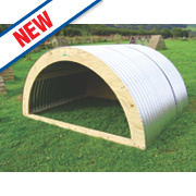 Animal Arks Open Front Goat / Sheep Shelter 1.8 x 2.44 x 1.2m