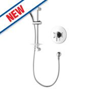 Triton Mata Mini Concentric Mixer Shower Built-In or Exposed Chrome