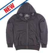 """Site Spruce Padded Hoodie Black Large 40-42"""" Chest"""