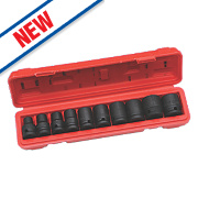 "Hilka Pro-Craft ½"" Impact Socket Set 10 Pieces"