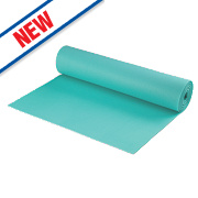 Acoustalay Foam Underlay Green 10m x 1m x 3mm