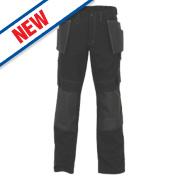JCB Cheadle Pro Trousers Black 30
