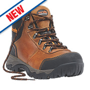 Scruffs Assault Safety Boots Brown Size 9