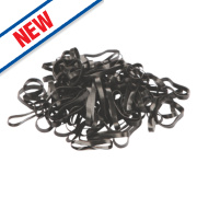 Kerbl Plaiting Bands Black
