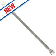 """Fluidmaster ClickSeal Flexible Tap Connector Hose 15mm x ½"""" x 500mm"""
