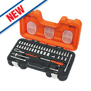 "Bahco ¼"" Socket Set 46Pcs"