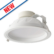 Luceco Fixed Recessed LED Downlight 2160Lm White 18W