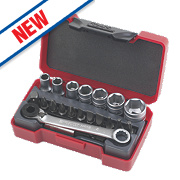 Teng Bits / Socket Set With 1/4 In Bit Ratchet