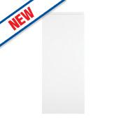 White Kitchens Gloss Handleless 300 Base/Wall Door 296 x 732mm