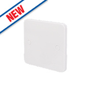 Schneider Electric 1-Gang Blanking Plate White
