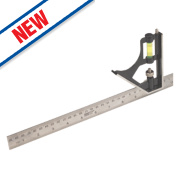 Forge Steel Combination Square 12