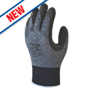Showa 341 Advanced Grip Gloves Grey/Black Large