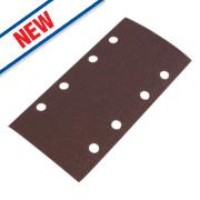 Flexovit Sanding Sheets Aluminium Oxide 185 x 93mm 60 Grit Pack of 5