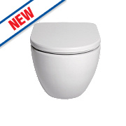St Ives Wall-Hung Toilet Dual Flush 4/6Ltr