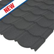 Corotile Panel Charcoal 1123 x 890mm