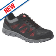 Lee Cooper LCSHOE088 Safety Trainers Black Size 12