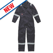 Dickies WD2279 Zip Front Coverall Navy Large 44-46