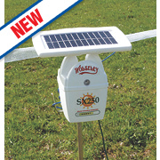 Wolseley SX250 Solar-Powered Electric Fence Energiser Battery Operated