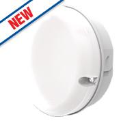 Luceco Mappo LBM200W6S40 Small Outdoor LED Bulkhead White 8W