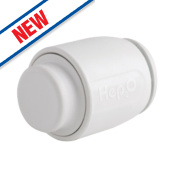 Hep2O Demountable Stop Ends 22mm Pack of 10