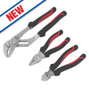 Forge Steel Pliers Set 3 Pieces