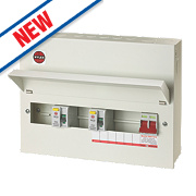 Wylex 10-Way Metal High Integrity Consumer Unit & 2 RCDs