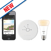 Philips Hue Lux Wireless Light Bulb Starter Kit 9W