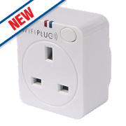 WifiPlug Mini Wi-Fi Controlled Plug White 13A