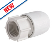 Hep2O Hand-Titan Push-Fit Tap Connector 15mm x ½