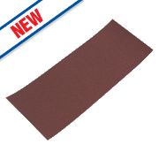 Flexovit Sanding Sheets Aluminium Oxide 185 x 93mm 180 Grit Pack of 10