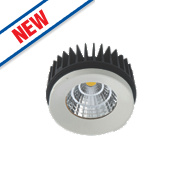 Luceco Fixed Semi-Recessed LED Downlight 1100Lm White 15W