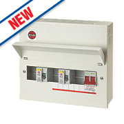 Wylex 7-Way Metal High Integrity Consumer Unit & 2 RCDs