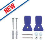 Rawlplug 67-488 Adjustable WC or Bidet Fixing Kit