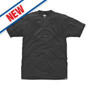 "Dickies Woodson T-Shirt Black X Large 44-46"" Chest"