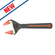 Rothenberger Adjustable Wide-Jaw Wrench 8""