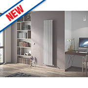 Moretti Ravello Vertical Designer Radiator White 1800x410mm