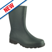 Cotswold Frome Non-Safety Wellington Boots Green Size 10