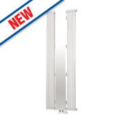 Ximax Aurora Vertical Flat Designer Radiator w/ Mirror White 1800x600mm