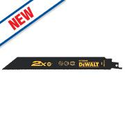 DeWalt DT2409L-QZ Reciprocating Saw Blades Hard Metal 305mm Pack of 5