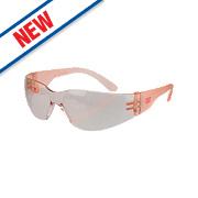 Cat Jet Pink Lens Safety Specs