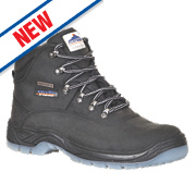 Steelite FW57 Safety Boots Black Size 8